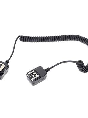 vakut zseblámpa sb910 sb900 csatlakozó kábel a Nikon D7100 d5300 d3300 kamera - fekete (360cm)