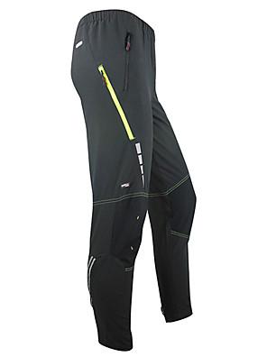 SANTIC® מכנסי רכיבה לגברים אופניים שמור על חום הגוף / עמיד / לביש מכנסיים / טייץ רכיבה על אופניים / תחתיות ספנדקס / טרילן אחיד סתיו / חורף