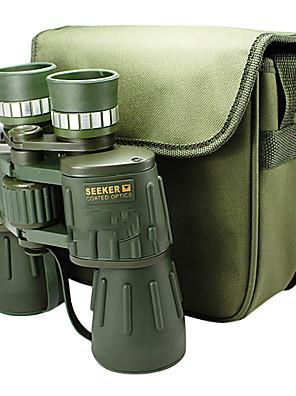 Seeker® 10x 50 mm Kikkerter BaK4 Høj definition / Night Vision / Vidvinkel 115m/1000M Central fokusering Fuld-coatedDæmpelys / Rækkevidde
