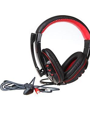 vp-X9 fejhallgató 3,5 mm-es mikrofonos játék számítógépes játékosok