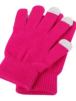 lyžařské rukavice Celý prst / Zimní rukavice Dámské Akvitita a sport Zahřívací / Prodyšné / Odolný vůči větru / Dotykové rukavice Lyže