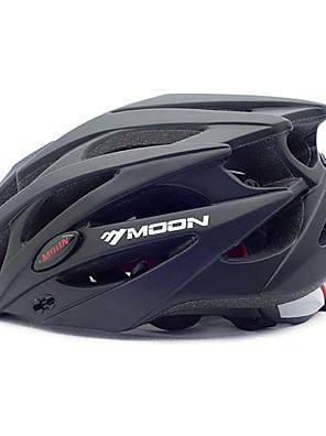 קסדה - יוניסקס - חצי צדפה - רכיבה על אופניים / רכיבה על אופני הרים / רכיבה בכביש / רכיבת פנאי (שחור , PC / EPS) 21 פתחי אוורור
