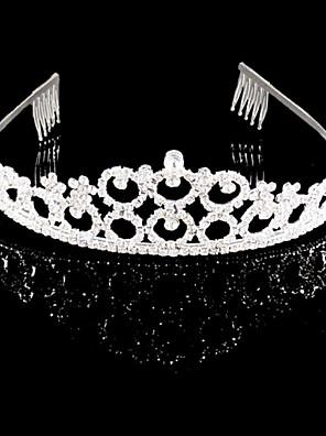 נשים ריינסטון / קריסטל כיסוי ראש-חתונה / אירוע מיוחד נזרים