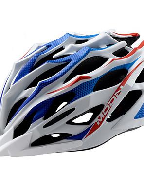 LUA Ciclismo Azul + Branco PC / EPS 28 Vents MTB Helmet