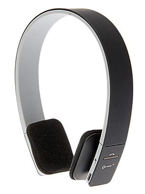 אוזניות על אוזן החכמה Bluetooth ספורט בקרת עצמת סטריאו לאייפון אנדרואיד (שחור)
