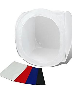 Photo Studio Soft Box Opnametent Softbox Cube Box, 40 x 40cm / Photo Light Tent Portable Bag 4 Backdrops