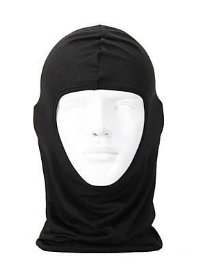 Moto/Ciclismo Máscara Facial / Máscaras de Esqui LYCRA® Cor Única Ciclismo/Moto