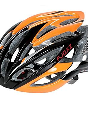 מחשב 26 פתחי אוורור FJQXZ Ultralight + EPS אורנג' רכיבה על אופניים קסדה