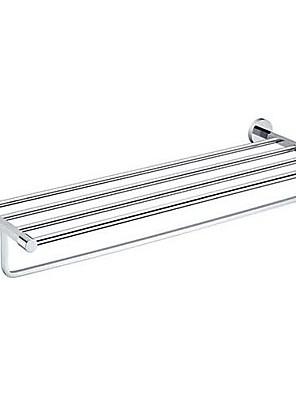 "Badkamerplank Chroom Muurbevestiging 62.5x21.3x11.5cm(24.6""x8.3""x4.5"") Messing Modern"