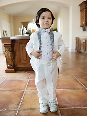 Směs polyesteru a bavlny Oblek pro mládence - 4 Pieces Obsahuje sako / Tričko / Kalhoty / Motýlek