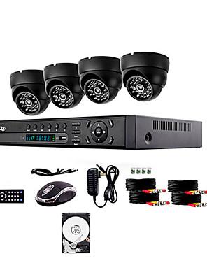 liview ® 700tvl kültéri nappali / éjszakai biztonsági kamera és 4 csatornás HDMI 960H DVR 1 TB-os merevlemez