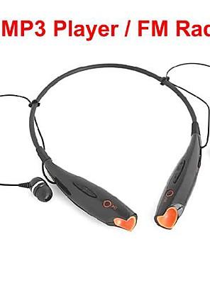 hovedtelefoner usb nakkebøjle sport med TF Slot fm radio til PC