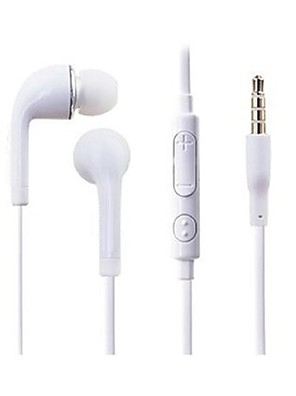 auscultadores de 3.5mm em controle de volume de cancelamento de ruído ouvido com microfone para Samsung Galaxy S4 / s3 note1 / 2/3