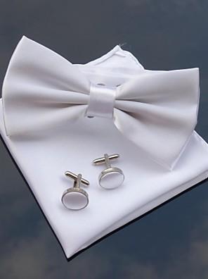 xinclubna® pánské svatební party polyesterové motýlky s odpovídající kapesník& cufflink (10 barev)