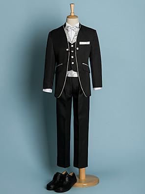 Polyester Oblek pro mládence - 6 Pieces Obsahuje sako / Tričko / Vesta / Kalhoty / pas / Motýlek