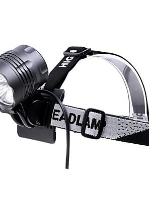 Osvětlení Čelovky / Světla na kolo LED 3500 Lumenů 5 Režim Cree XM-L T6 18650 VoděodolnýKempování a turistika / Cyklistika / Lov /