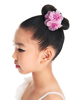 Acessórios de Dança Decoração de Cabelo Crianças Treino Organza Flor(es)