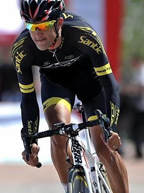 SANTIC® Camisa com Shorts para Ciclismo Homens Manga Curta Moto Respirável / Secagem Rápida / Alta Respirabilidade (>15,001g) / Tapete 3D