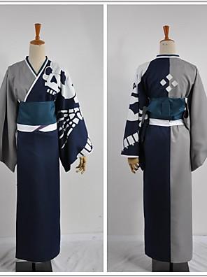 inspirada por trajes bakumatsu rocha Shinsaku Takasugi cosplay