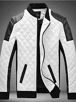 mænds nye ankomst afslappet høj kvalitet ærme frakke