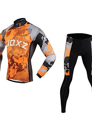 FJQXZ® Cyklodres a čapáky Pánské Dlouhé rukávy Jezdit na koleProdyšné / Zahřívací / Rychleschnoucí / Větruvzdorné / Odolný vůči UV záření