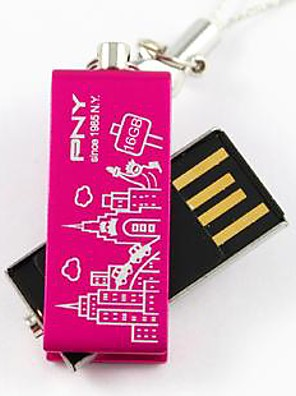 PNY szép attasé Párizs Eiffel-torony 16 GB-os USB flash drive
