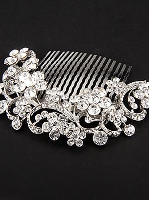 נשים סגסוגת כיסוי ראש-חתונה / אירוע מיוחד מסרקי שיער / פרחים