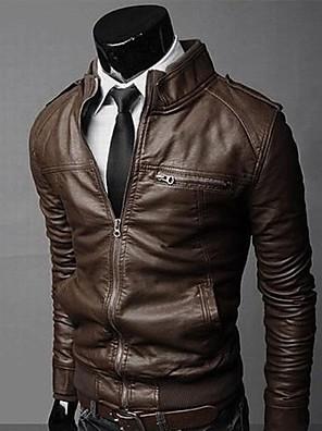 hillgo herremode lang ærmet komfortabel frakke