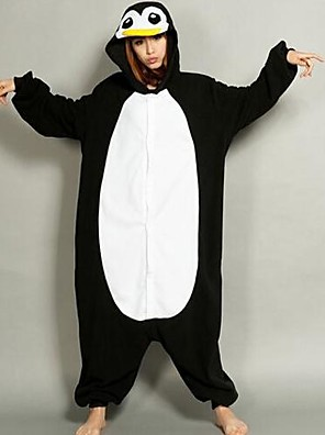 vrouwen cartoon penguin jumpsuit
