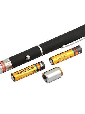 lt-8883 nastavitelná hořící červené pero tvar laserové ukazovátko (4mw.650nm.2xaaa.black)