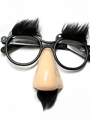 funny ældste briller næse / pande - beige + sort