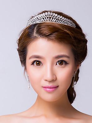 Mujer Diamantes Sintéticos / Aleación Celada-Boda / Ocasión especial Tiaras Claro
