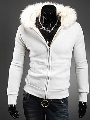 huizi férfi alkalmi kapucnis pulóver termikus