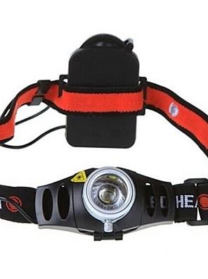 תאורה פנסי ראש / פנסי אופניים LED 150/350/200 Lumens 2 / 3 מצב Cree XR-E Q5 AAA מיקוד מתכוונן / עמיד למים / עמיד לחבטות