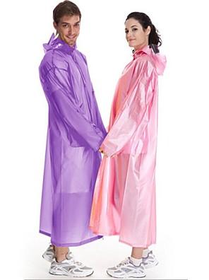 טיולי טבע מעיל גשם / ז'קטים לנשים יוניסקס מוגן מגשם אביב / קיץ / סתיו PVC M / L מחנאות וטיולים / דיג