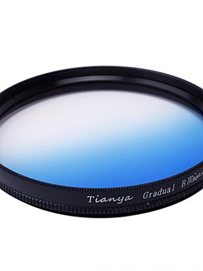 Tianya 67mm kruhový absolvoval modrého filtru pro Nikon D7100 D7000 18-105 18-140 canon 700D 600D 18-135