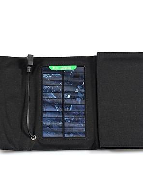 7w 5V 1.3a külső usb napenergia panel összecsukható töltő töltő táska iphone6 / 6plus / Samsung / más mobil eszközök