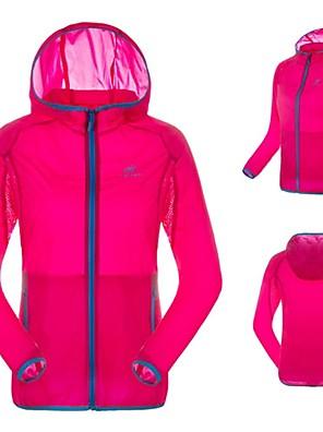 Cyklo bunda Dámské Dlouhé rukávy Jezdit na kole Voděodolný / Prodyšné / Rychleschnoucí / Odolný vůči UV zářeníDámská bunda / Vrchní část