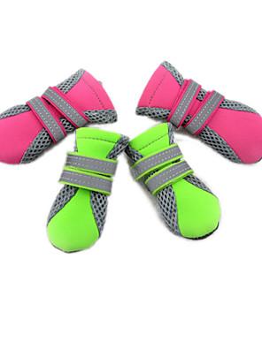 חתולים / כלבים נעליים ומגפיים ירוק / ורוד קיץ/אביב חומר מעורבכֶּלֶב נעליים