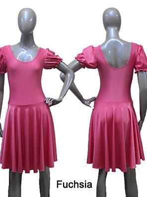 Balé Vestidos Mulheres / Crianças Actuação / Treino Nailon / Licra 1 Peça Vestidos As the Size Chart