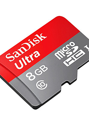 SanDisk 8gb class 10 UHS-1 microSDHC paměťovou kartu SD adaptérem 48 MB / s