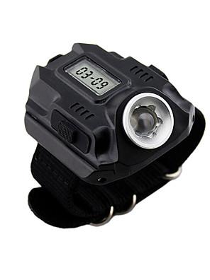 Iluminação Lanternas LED / Faixa Para Lanterna de Cabeça LED 7 Lumens 7 Modo - Pilha Tipo D Tamanho Compacto / EmergênciaCampismo /
