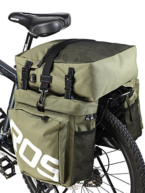 ROSWHEEL® תיק אופניים 35Lתיקים למטען האופניים עמיד למים / מוגן מגשם / רוכסן עמיד למים / עמיד ללחות / ניתן ללבישה / 3 ב 1 תיק אופנייםעור