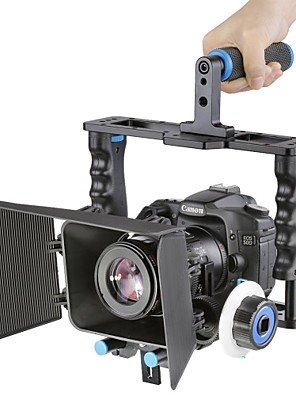 מערכת עשיית סרט ערכת סרט וידאו כלוב ערכת מצלמת אלומיניום yelangu®