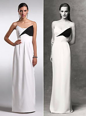 ts Couture® robe de soirée taille plus / gaine / colonne petite bustier parole longueur mousseline