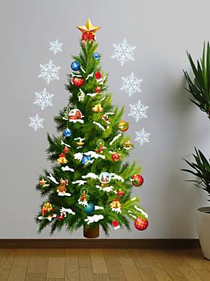 Karácsony Falimatrica Repülőgép matricák , PVC 50*70cm
