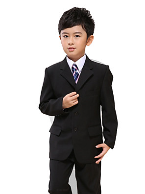 Směs polyesteru a bavlny Oblek pro mládence - 7 Pieces Obsahuje sako / Tričko / Vesta / Kalhoty / pas / Motýlek / Dlouhá kravata