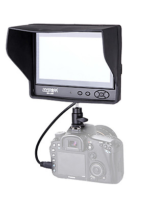 "sevenoak® sk-GL7 7 ""ips TFT LCD-skærm til Canon nilkon Sony DSLR kamera videokamera"