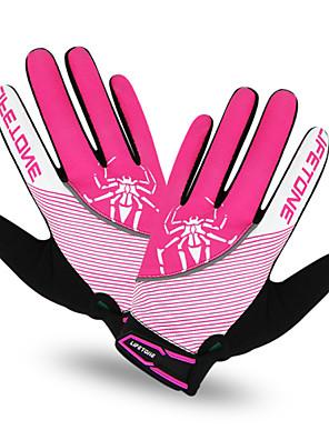 KINGBIKE/LIFETONE® כפפות ספורט/ פעילות לנשים / לגברים כפפות רכיבה אביב / קיץ / סתיו / חורף כפפות אופנייםשמור על חום הגוף / נגד החלקה /