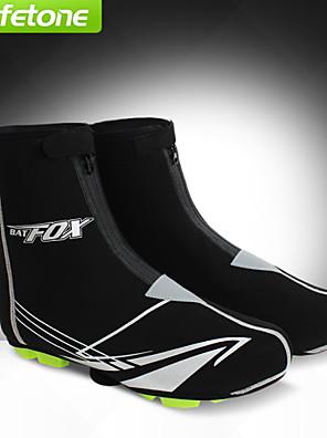 כיסויי נעל אופנייים עמיד למים / שמור על חום הגוף / עמיד יוניסקס שחור ספנדקס